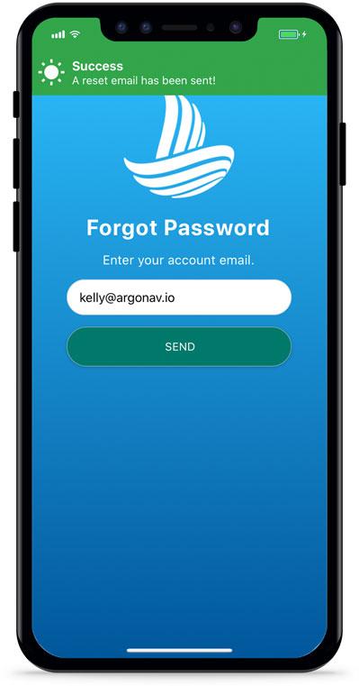 Send Reset Password Email